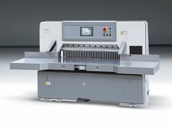 shqw-940对开全自动电脑程控切纸机