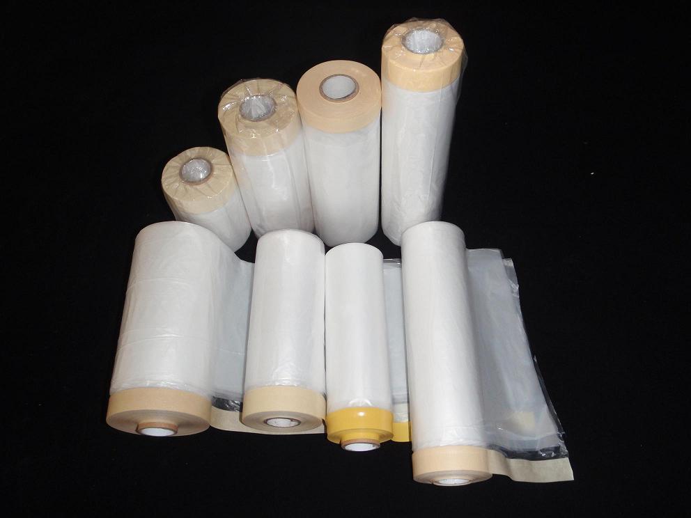 其他防护保养品-供应汽车喷漆喷涂专用遮蔽纸-中华