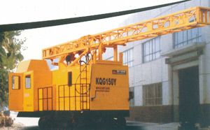 KQGY150履带行走高风压潜孔钻机 KQG150潜孔钻机