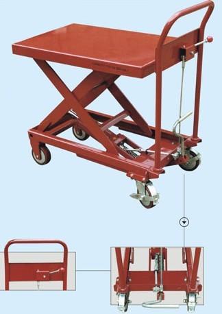 手动液压工具车,手动液压升降平台,手动液压物流台车,液压小平图片