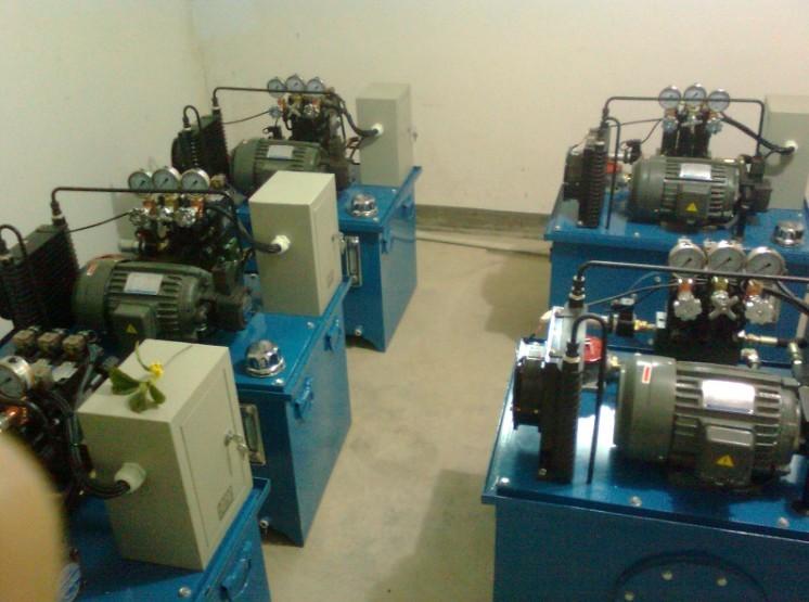 机床液压系统,机床液压站, 液压泵站图片