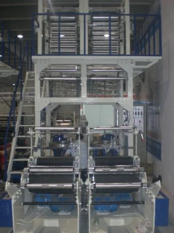 SD-60型单螺杆双头吹膜机组