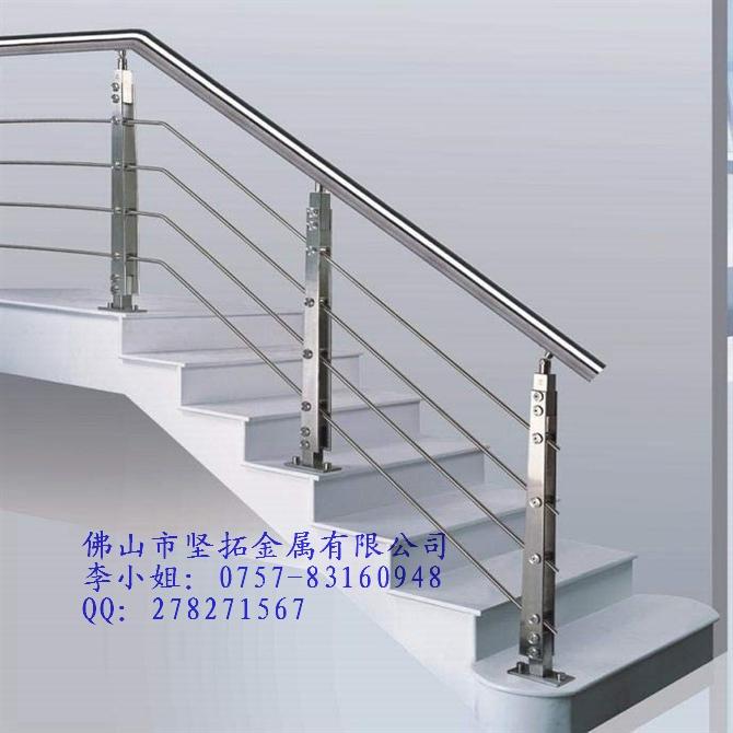 304不锈钢光面栏杆扶手-佛山市坚拓金属有限公司