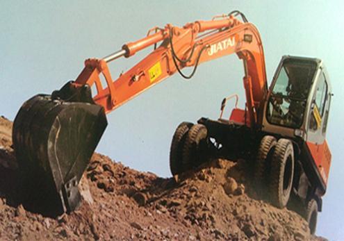 莆田佳泰8吨全液压四驱动360度小型挖掘机