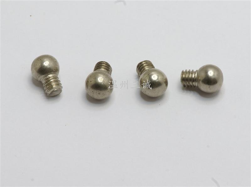 不锈钢球头螺丝不锈钢球形螺丝不锈钢机钉不锈钢螺钉不锈钢冷墩加