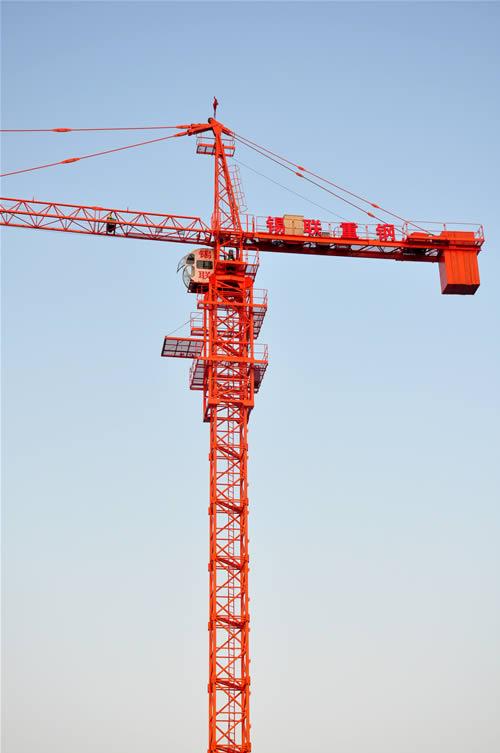 起重机类型 塔式起重机 型号  tc5610 最大起重量   6 额定载重量