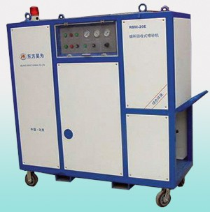 厂家直销固定式、移动式一体式喷砂机