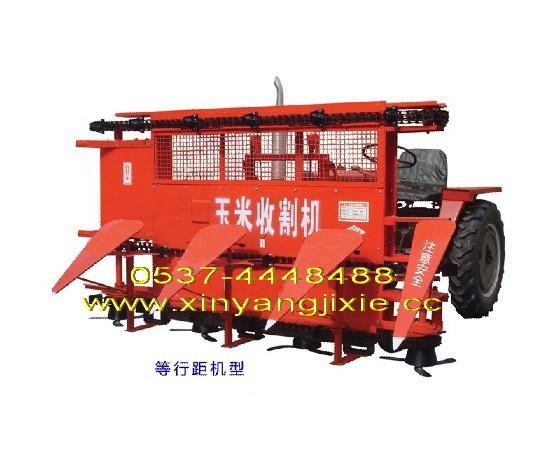 联合收割机收玉米秸秆 中收玉米联合收割机 玉米收割机两用收秸秆