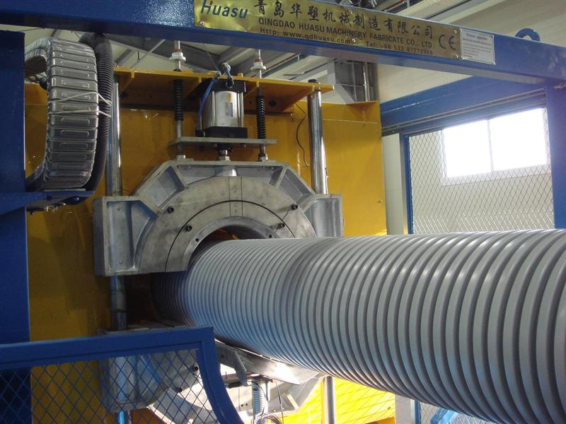 管材设备-供应UPVC双壁波纹管生产线-汽-双壁波纹管生产线 pp双壁