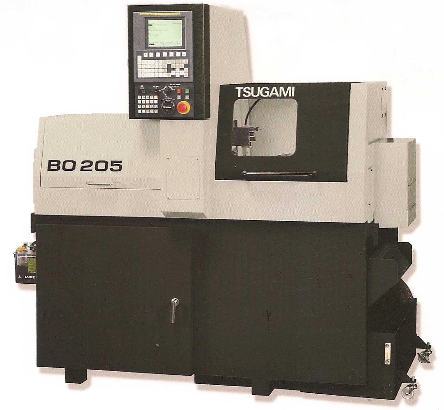 数控机床 供应日本津上走心机 bo 204 bo 205 中