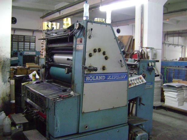 单色印刷机_二手印刷机设备,罗兰ob四开单色印刷机