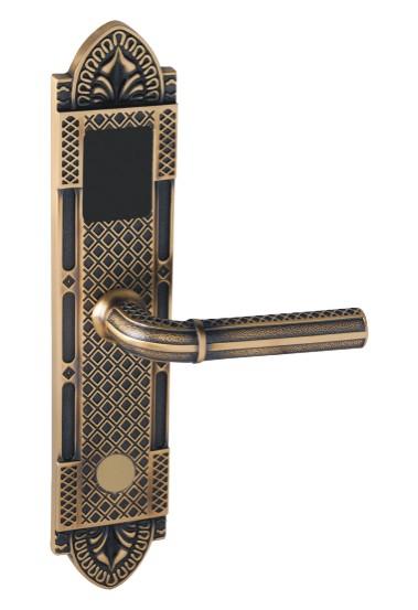 ic卡锁-供应方形酒店智能电子感应锁-中华机械网