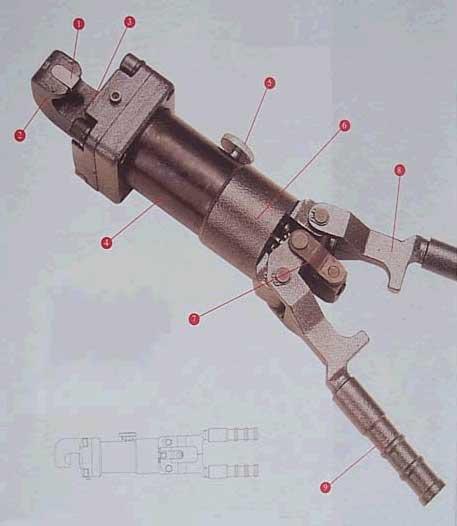 台州YDQ12便携式液压大力钳(中号钳)