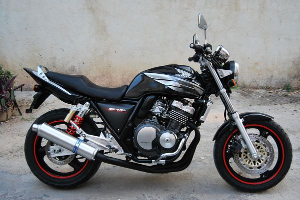 本田CB400 本田摩托车 摩托车报价图片