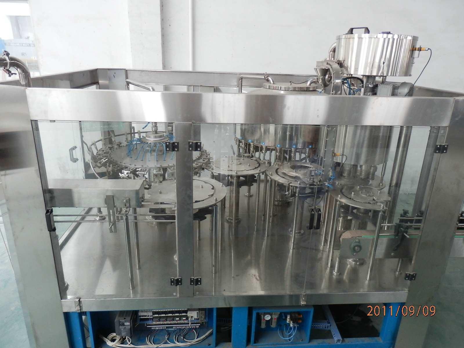 灌装机械-供应矿泉水灌装设备-中华机械网
