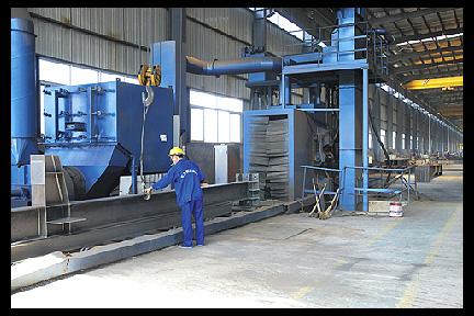 钢结构喷砂除锈清理设备,钢结构喷砂除锈清理设备批发商,钢结构