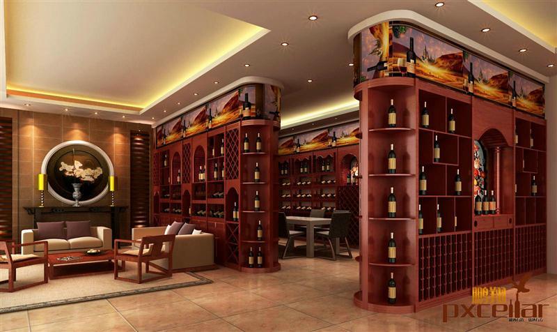 展示架-供应木制葡萄酒架-中华机械网