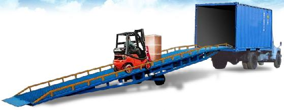 移动式液压登车桥-济南金力液压机械有限公司-中华图片