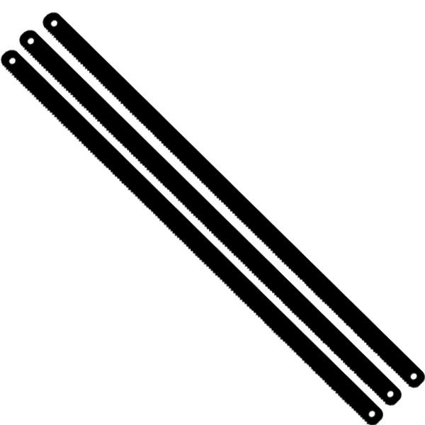 black hacksaw blade