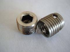不锈钢六角补芯不锈钢塞头不锈钢堵头不锈钢冷墩件阀门用螺母