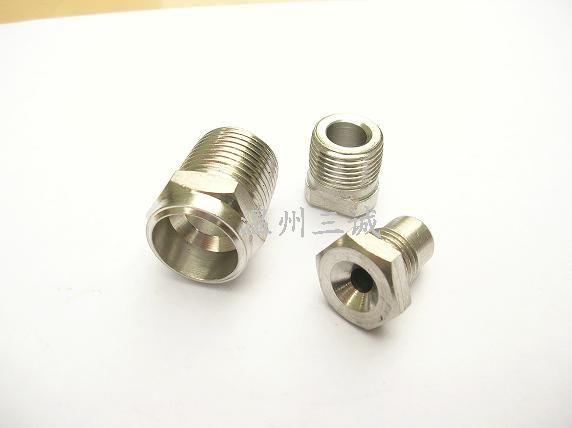 不锈钢水管芯子接头螺母芯子不锈钢管子接头皮管接头螺母芯子