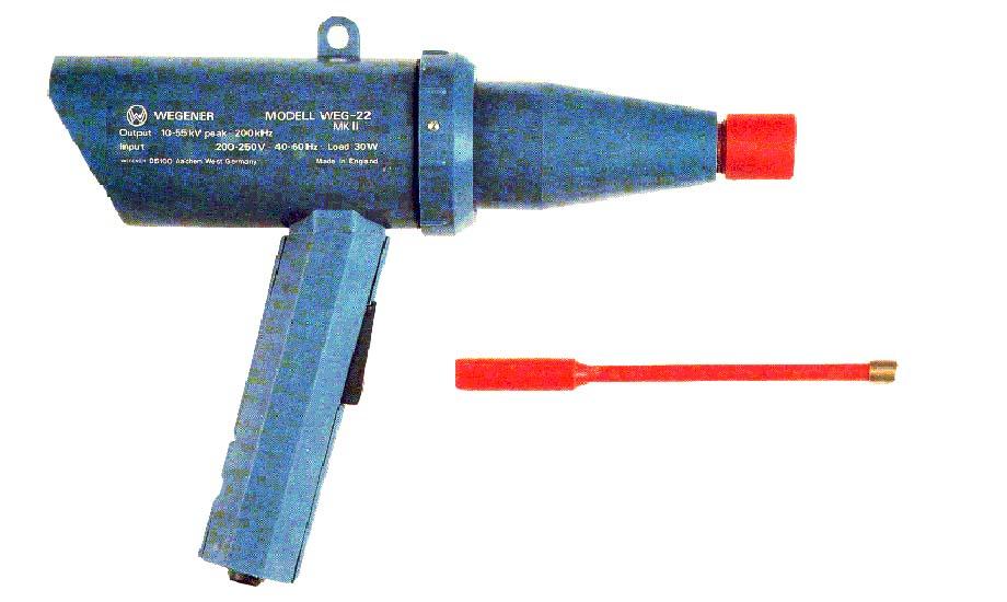 英国高频电火花微孔测漏枪