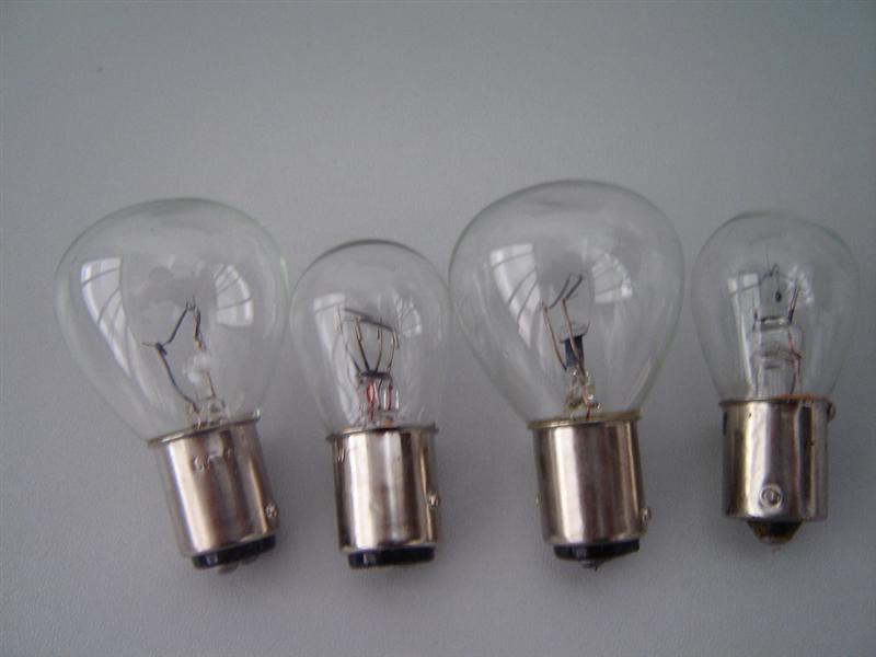48v25w灯泡 双点高低脚灯泡 进口叉车灯泡 叉车转向灯