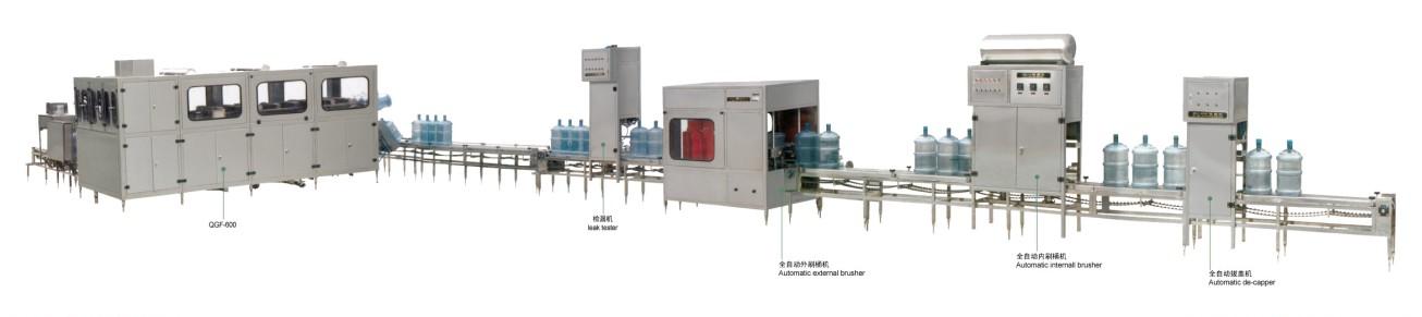 桶装水灌装生产