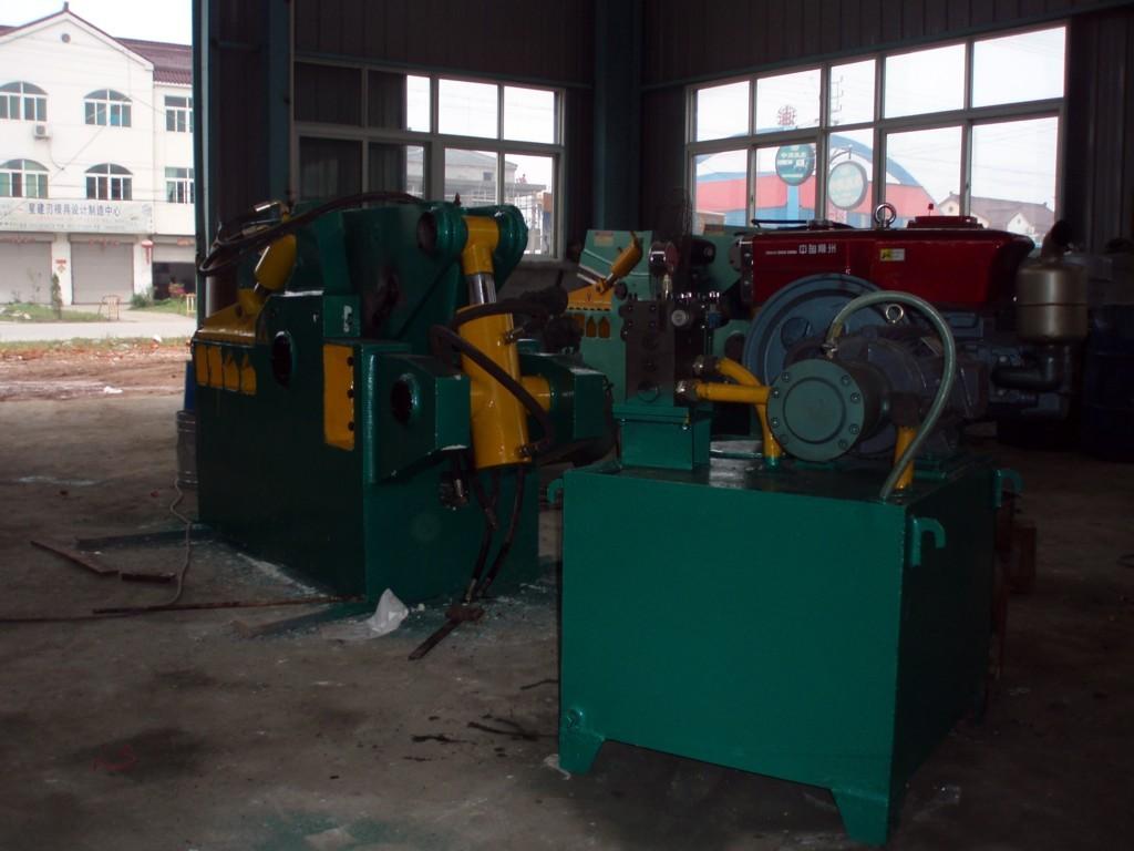 鳄鱼式剪切机,圆钢剪切机(液压驱动)