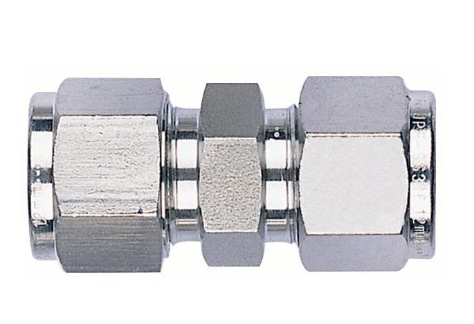不锈钢卡套式直通接头――明瑞液压管件