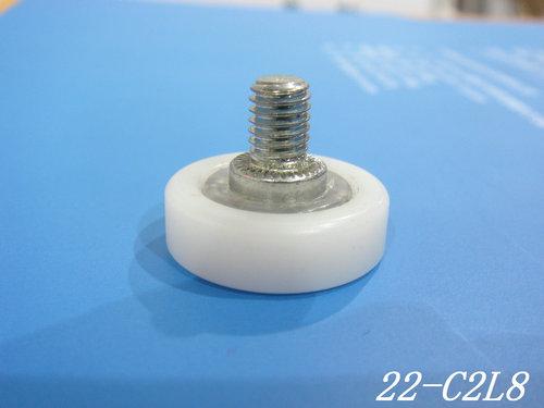 厂家直销DR19/22/24/26/28塑料滑轮,M6L8抽屉定位轮