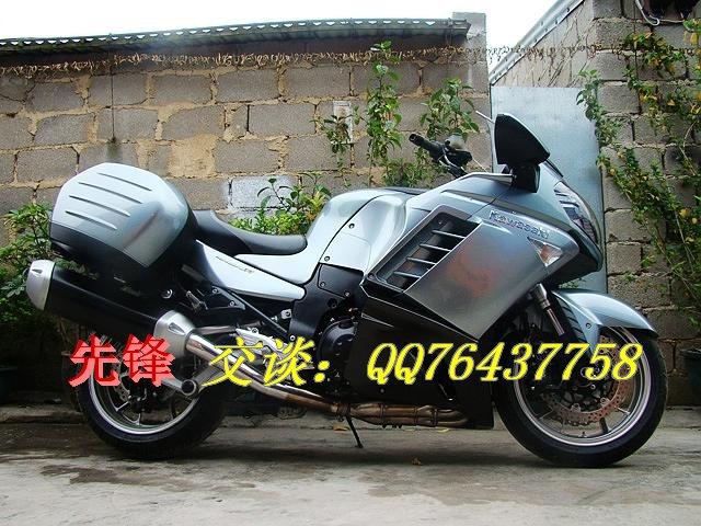 广西省特价卖川崎摩托车GTR1400