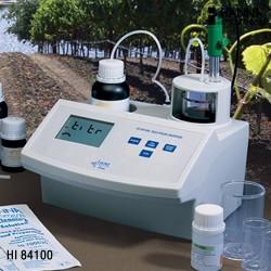 哈纳HANNA HI84100微电脑二氧化硫滴定分析仪