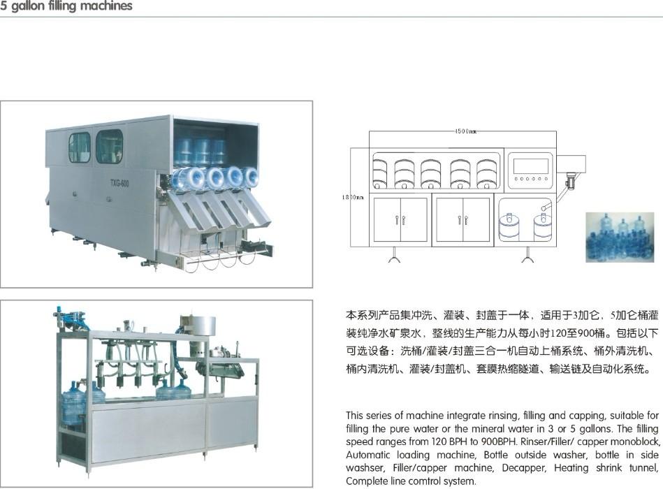 包装机械-供应18-5加仑桶装线包装机-中华机械网