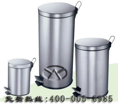 圆形脚踏式垃圾桶