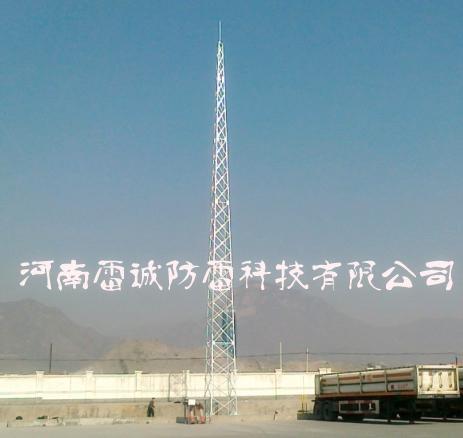 防雷避雷产品-供应gfl系列四角钢结构避雷针塔-中华