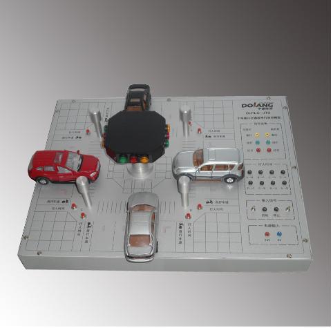 dlplc-jtd十字路口交通信号灯实训模型