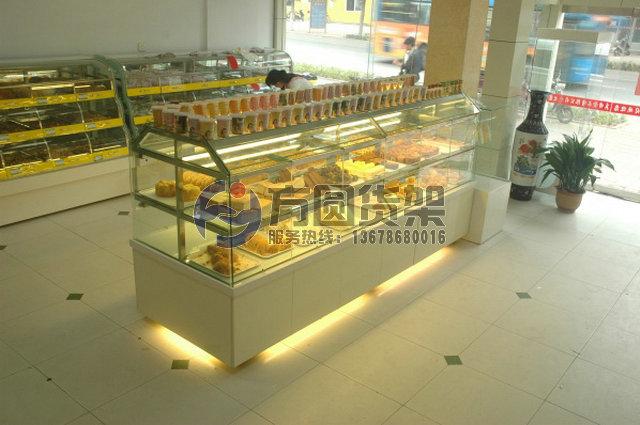 超市面包架 甜点架 木制面包架 糕点架 木制面包展示架
