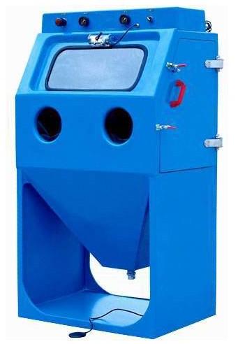 小型喷砂机 手动喷砂机 箱式喷砂机