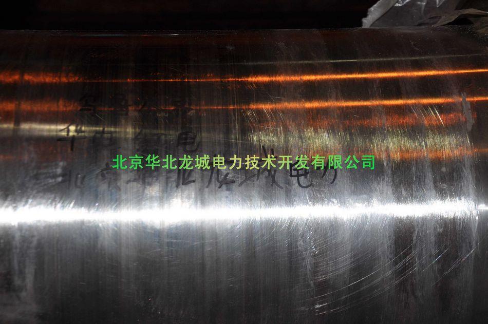 轴颈磨损沟槽冷焊修复