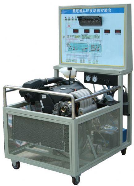 汽车发动机实训台 桑塔纳2000ajr发动机实训台高清图片