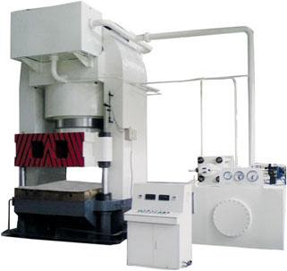 液压机械及部件-供应缠绕式板材成型液压机-中华机械图片