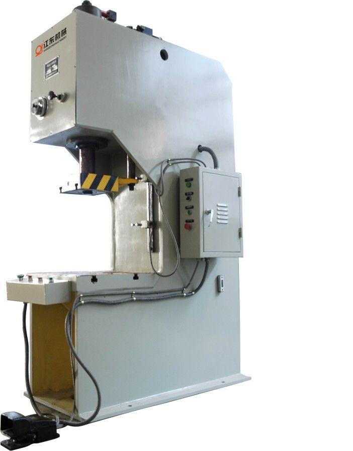 液压机械及部件-供应单柱校正压装液压机-中华机械网图片