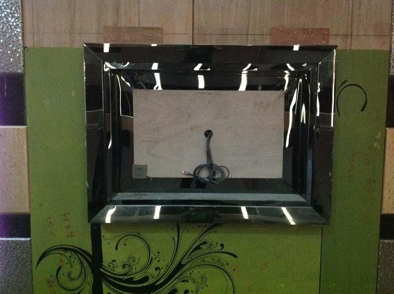 亮面不锈钢材质装饰框架