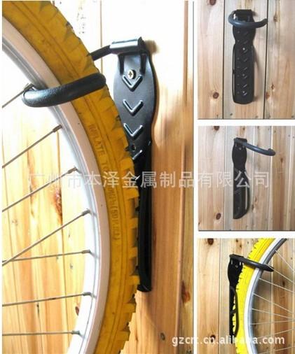 壁挂式自行车架、自行车挂钩、