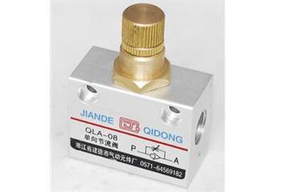 QLA系列单向节流阀低价,QLA系列单向节流阀优惠价