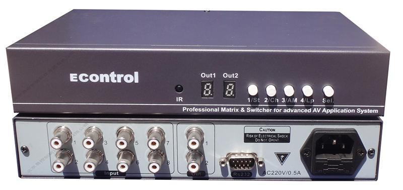 其他电子产品制造设备-供应4进1出音频切换器 audio台