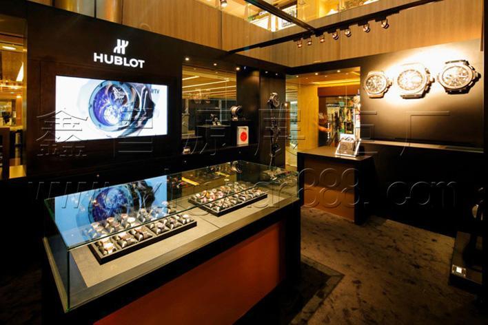 商场手表橱窗设计