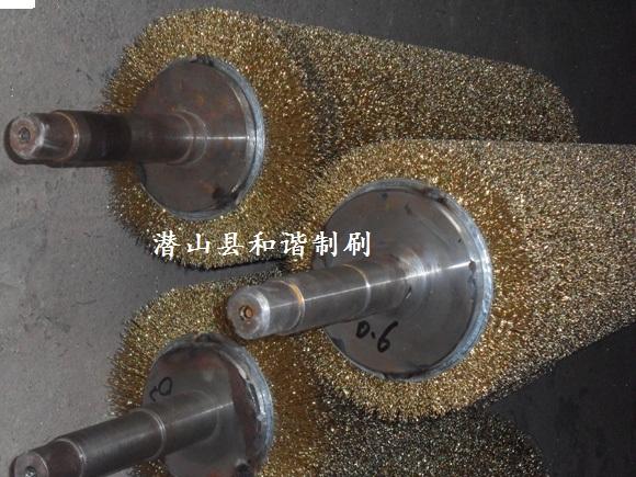 钢丝刷-供应仿古地板拉丝机钢丝辊 仿古木地板拉丝机