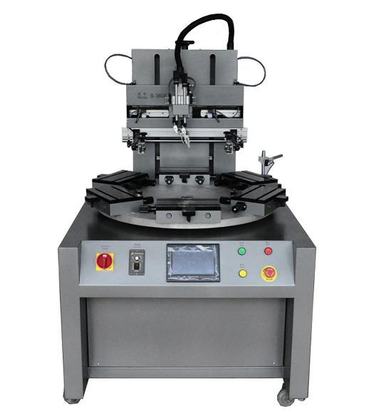 高速转盘UV丝印机